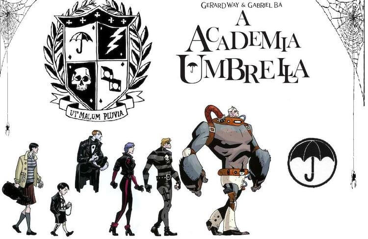 The Umbrella Academy created by Gerard Way and Gabriel Ba