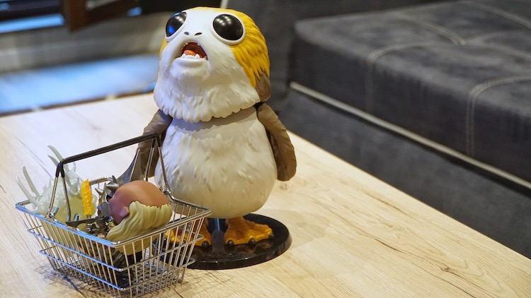 Funko Pop! Shopping Porg
